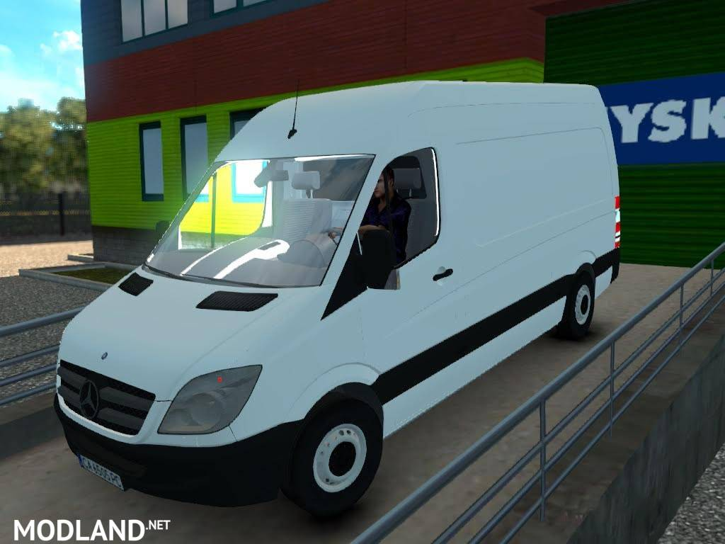 mercedes benz sprinter 311cdi with bg plates mod for ets 2. Black Bedroom Furniture Sets. Home Design Ideas
