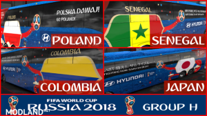 FIFA WORLD CUP 2018 RUSSIA Group H Official Buses Volvo 9800