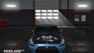 Nissan GTR 2017 v2 (New engine Sound), 1 photo