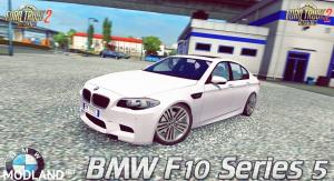 BMW F10 Series 5 (Alpha Version) v1.0 (1.27.x) for ETS 2, 1 photo