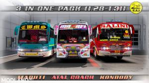 Three Bus Mods in One Pack 1.28, 1.30, 1.31, 1.32, 1 photo