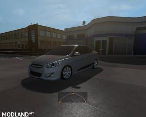 Hyundai Accent Blue - External Download image