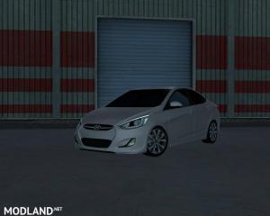 Hyundai Accent Blue, 3 photo