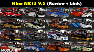 Hino AK1J V.2 Final Update (ETS2 1.35.X.X), 1 photo