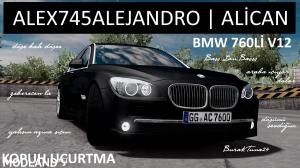 ETS2 Bmw 760li v12 Alex745alejandro , 3 photo