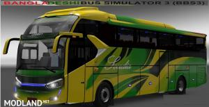 Laksana SR2XHD Bus with BD Skin