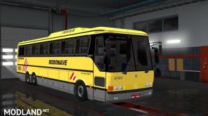 Mercedes Benz 6×2 Bus for 1.30