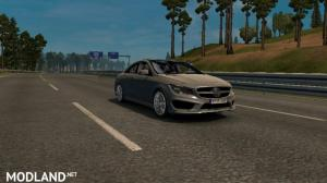 Mercedes Benz CLA v1.5 rework by Allan (Motorway Roads), 1 photo