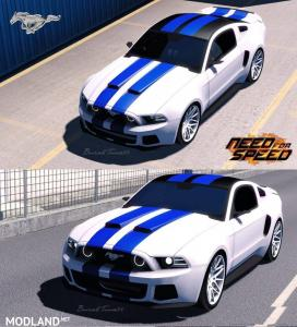 Need For Speed Ford Mustang By BurakTuna24 1.31 fix, 1 photo