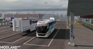 Scania touring Speeds Bus skin  official trailer for 1.32.x to 1.35.x , 2 photo