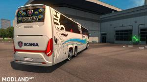 Scania Touring bus 2nd gen New skin and road Event 1.31 or 1.32, 2 photo