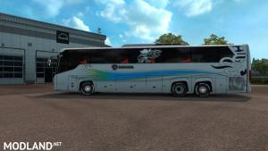 Scania Touring bus 2nd gen New skin and road Event 1.31 or 1.32, 1 photo
