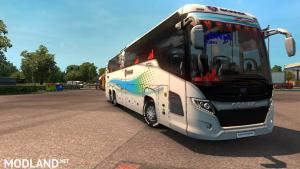 Scania Touring bus 2nd gen New skin and road Event 1.31 or 1.32, 3 photo