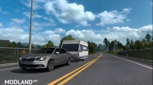 Skoda Superb + Caravan 1.33