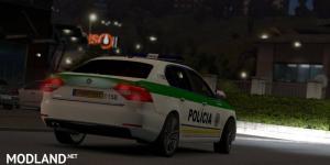 Skoda Superb SVK Police v 2.0, 1 photo