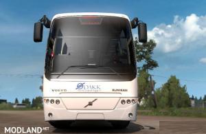 Volvo B12B TX Bus and DAKK Szeged Skin , 1 photo