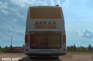 Volvo B12B TX Bus and DAKK Szeged Skin , 2 photo