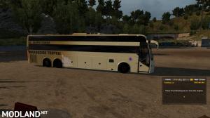 Indian sleeper Coach bus Volvo VII v2, 1 photo