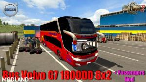 Bus Volvo G7 1800DD 6x2 + Passengers Mod v 1.0, 1 photo