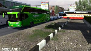 BUSSES IN TRAFFIC PACK V2.7.1 BY FPS & RYZEN 1.37.X, 1 photo