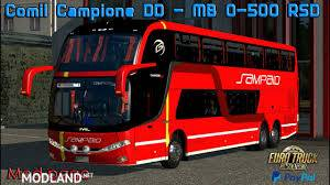 Bus Comil DD6x2 mercedes for 1.35-1.36, 1 photo