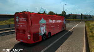 Volvo 9800 Bus Liverpool FC Skin , 3 photo