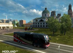 Bus Macropolo G7 1600LD KF Skenderbeu Skin
