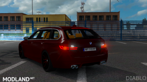 BMW M5 Touring by Diablo edit, 2 photo