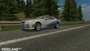 Nissan Skyline GTR R34 Beta V1, 1 photo