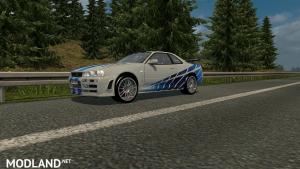 Nissan Skyline GTR R34 Beta V1, 1 photo