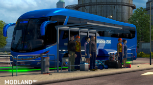 Bus Station for ETS2 1.31, 3 photo