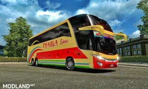 Tanzania Buses Skins for Marcopolo g7 v 1.0, 3 photo