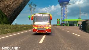 KSRTC Skin for Maruti V2 bus, 4 photo