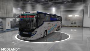 scania touring new euro line skin with more addon 1.31 to 1.33, 1 photo