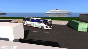 scania touring new euro line skin with more addon 1.31 to 1.33, 2 photo