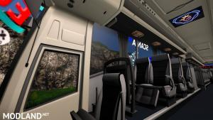 scania touring new euro line skin with more addon 1.31 to 1.33, 3 photo