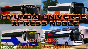 Hyundai Universe Express Noble Full Version | Orginal Model, 1 photo