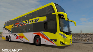 METALSUR STARBUS 3 6X2 BUS MOD - ETS2 1.37,1.38, 3 photo