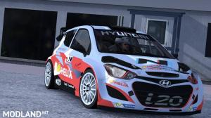 Hyundai i20 WRC V1R20 1.36