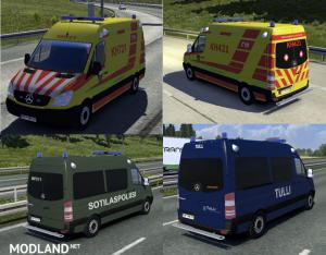 Fin Police and Ambulance AI Cars v 2.2.2, 1 photo