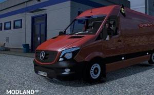 Mercedes Sprinter 2K16 by Klolo901 | Only for mod developers | Unlocked Version