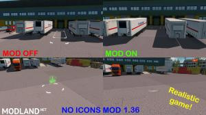NO ICONS MOD (REALISTIC GAME) 1.36.x UPDATE!, 2 photo