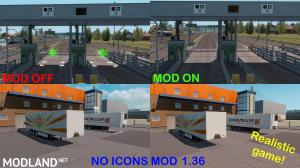 NO ICONS MOD (REALISTIC GAME) 1.36.x UPDATE!, 3 photo