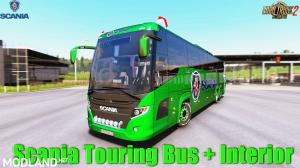 Scania Touring for ETS2 1.34, 1 photo