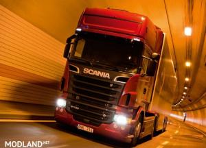 Scania Ghost V8 Open Pipe Crackle v 2.0