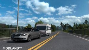 Skoda Superb + Caravan Updated 1.32+ - External Download image