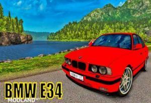 BMW E34 + INTERIOR v 1.0