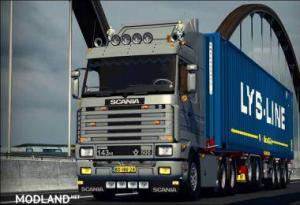 SCANIA 143M GAME ALL VERSIONS MOD