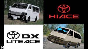 Toyota Hiace 2016 + Liteace 1.35.x