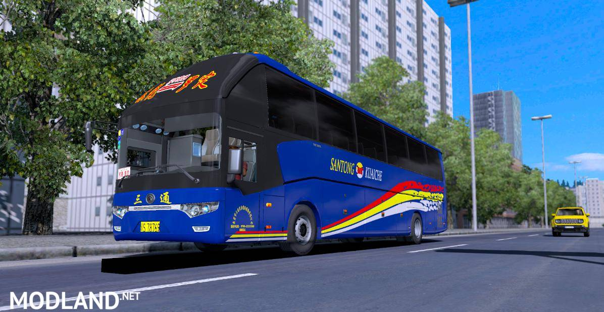 Yutong Bus Zk6122h9 1 35 X Ets 2